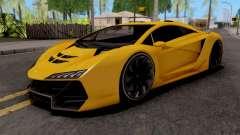 Pegassi Zentorno GTA 5 para GTA San Andreas