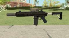 Carbine Rifle GTA V V2 (Silenced, Tactical) para GTA San Andreas