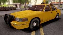 Ford Crown Victoria Taxi Sedan para GTA San Andreas