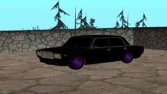 Preto VAZ 2107 para GTA San Andreas