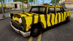 Zebra Cab GTA VC Xbox para GTA San Andreas