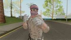 Yemeni Militia V2 (Call Of Duty: Black Ops II) para GTA San Andreas