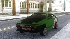 Toyota Corolla AE86 Coupe 1984 para GTA San Andreas