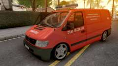 Mercedes-Benz Vito 2000 Descarcerare para GTA San Andreas