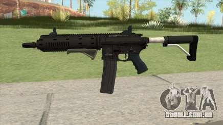 Carbine Rifle GTA V Extended (Flashlight, Grip) para GTA San Andreas