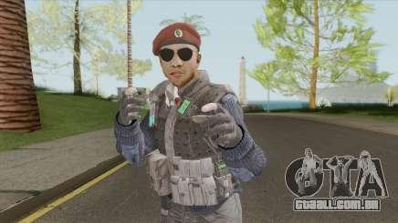 Colussus Militia V2 (Call Of Duty: Black Ops II) para GTA San Andreas