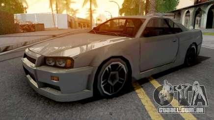 Nissan Skyline R34 Grey para GTA San Andreas