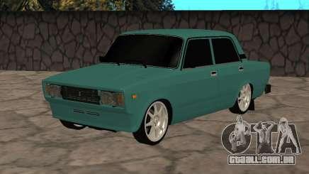 VAZ 2105 Turquesa Limousine para GTA San Andreas