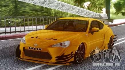 Toyota GT-86 para GTA San Andreas
