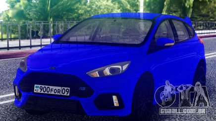 Ford Focus RS 2017 Hatchback para GTA San Andreas