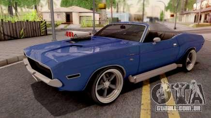 Dodge Challenger Cabrio 1970 para GTA San Andreas