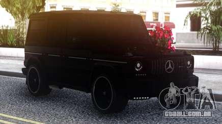 Mercedes-Benz G-Class Black para GTA San Andreas