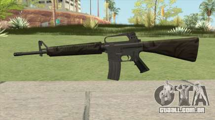 M16A2 Partial Jungle Camo (Stock Mag) para GTA San Andreas