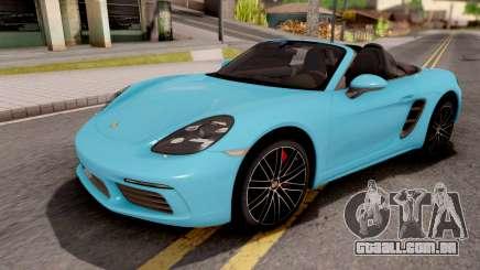 Porsche 718 Boxster S 2016 para GTA San Andreas