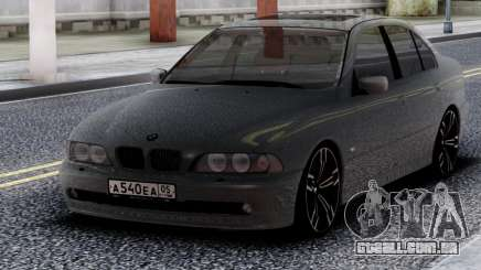 BMW 540i E39 Chrome para GTA San Andreas