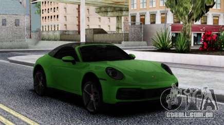 Porsche 911 Cabriolet Carrera 4S 2020 para GTA San Andreas