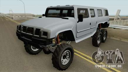 Mammoth Patriot 6x6 GTA V para GTA San Andreas