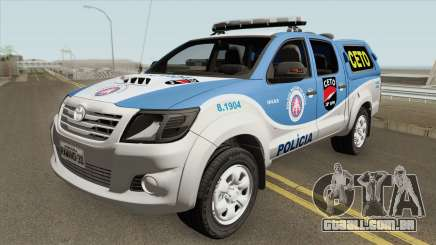 Toyota Hilux 2015 CETO para GTA San Andreas