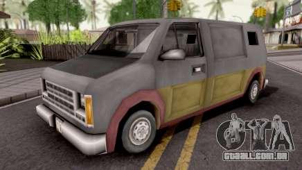 Hoods Rumpo XL GTA III para GTA San Andreas