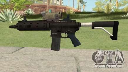 Carbine Rifle GTA V V2 (Flashlight, Tactical) para GTA San Andreas