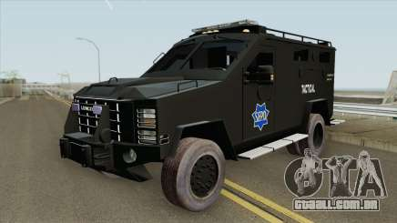 Lenco BearCat (SFPD Tactical Unit) para GTA San Andreas