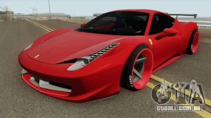 Ferrari 458 Italia HQ para GTA San Andreas