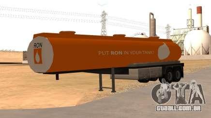 LQ Petrol Tanker RON para GTA San Andreas
