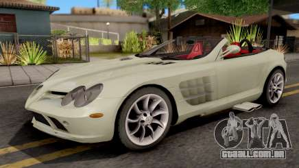 Mercedes-Benz SLR Roadster para GTA San Andreas