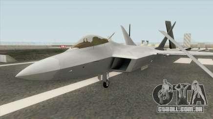 F-22 Raptor MQ para GTA San Andreas