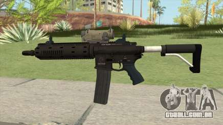 Carbine Rifle GTA V Tactical (Extended Clip) para GTA San Andreas