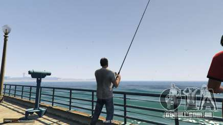 Fishing Mod para GTA 5