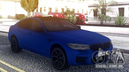 BMW M5 F90 2019 Competition para GTA San Andreas