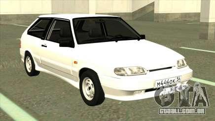 VAZ 2113 de Drenagem Branco para GTA San Andreas