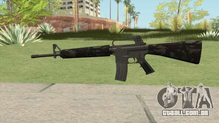 M16A2 Partial Forest Camo (Stock Mag) para GTA San Andreas