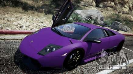 Lamborghini Murcielago LP670-4 SuperVeloce para GTA 5