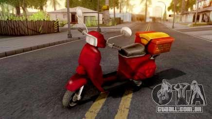 Pizzaboy GTA VC Xbox para GTA San Andreas