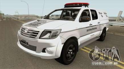 Toyota Hilux SRV 2014 (GETAP MG) para GTA San Andreas