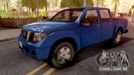 Nissan Frontier Blue para GTA San Andreas