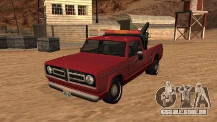 Sadler Towtruck para GTA San Andreas