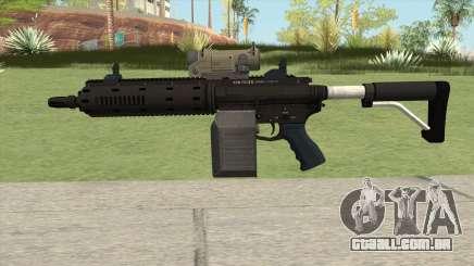 Carbine Rifle GTA V V1 (Flashlight, Tactical) para GTA San Andreas