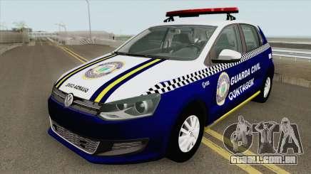Volkswagen Gol G6 (Guarda Civil) para GTA San Andreas