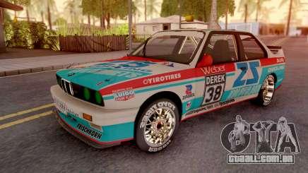 BMW M3 E30 DTM para GTA San Andreas