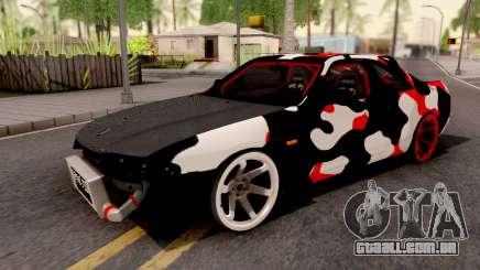 Nissan Skyline R33 Drift Camo para GTA San Andreas