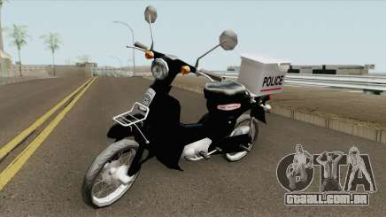 Honda Super Cub Police Version B para GTA San Andreas