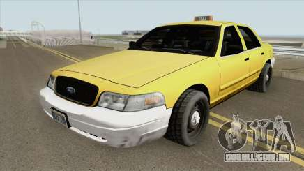 Ford Crown Victoria - Taxi v2 para GTA San Andreas
