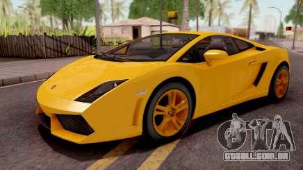 Lamborghini Gallardo LP560 Yellow para GTA San Andreas