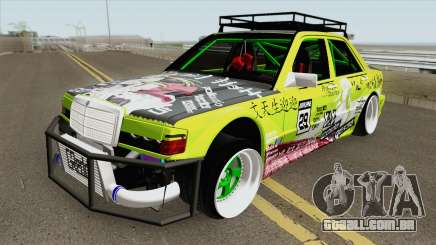 Mercedes-Benz 190E Evolution TurboStance para GTA San Andreas