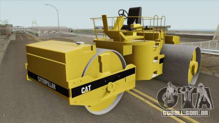 Caterpillar Road Roller para GTA San Andreas