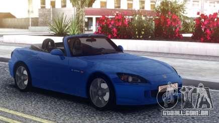 Honda S2000 Cabrio Blue para GTA San Andreas