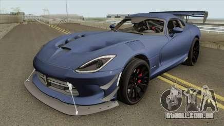 Dodge ACR Viper Aero Extreme 2017 para GTA San Andreas